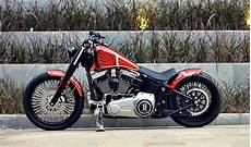 Modifikasi Harley Davidson by Modifikasi Motor Harley Davidson Softail Fatboy Lo Terbaru