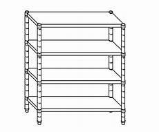 scaffale inox scaffale per magazzino in acciaio inox 304 100x50x200 cm