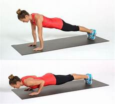 Push Ups - how to do a proper push up popsugar fitness