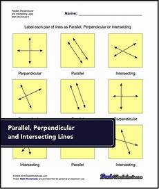geometry lines worksheets 791 basic geometry parallel perpendicular intersecting labelling lines as parallel p author