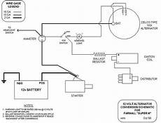 Wiring Diagram For 12 Volt Conversion Of Alternator On Ferguson To 30 unab le to get spark to the plugs no voltage form coil to