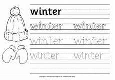 free winter handwriting worksheets 20021 winter handwriting worksheet 2