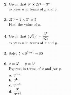 indices harder questions a worksheet with harder
