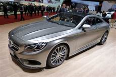 Mercedes S Class Coupe Debuted At Geneva Motor Show