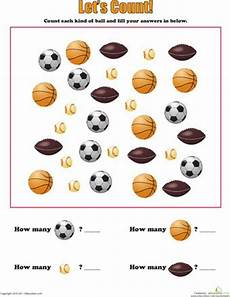 sports balls worksheets 15755 count sports and worksheets on