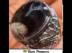 cincin batu akik ginggang hitam kalimantan youtube