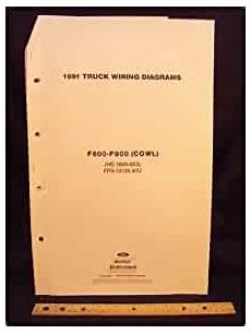 1991 ford f800 wiring diagram 1991 ford f600 f700 f800 series cowl truck electrical wiring diagrams schematics ford