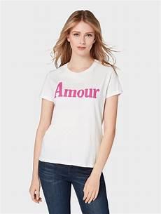 tom tailor denim t shirt 187 t shirt mit print 171 aus