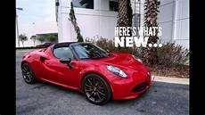 Alfa Spider 2019 by 2019 Alfa Romeo 4c Spider S New