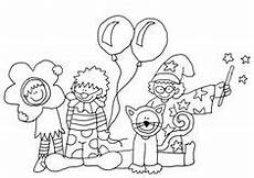 Fasching Malvorlagen Rom Circus Clowns Color Page Coloring Pages Color Plate