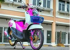Modifikasi Fino 125 by 21 Modifikasi Yamaha Fino 125 Terupdate