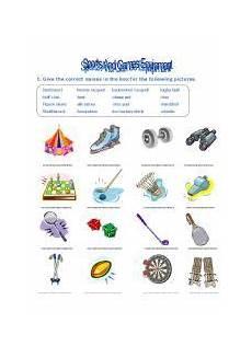 sports equipments worksheets 15787 worksheet sport and equipment