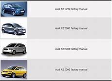 manual repair autos 2000 volkswagen eurovan lane departure warning audi a2 1999 2000 2001 2002 repair manual factory manual