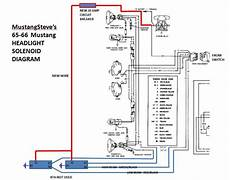 1966 mustang headlight wiring diagram fyi ford mustangsteve s ford mustang forum 187 mustangsteve s headlight relay diagram for 65 66