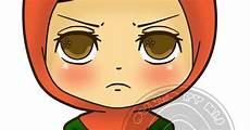 Top Gambar Kartun Muslimah Marah Design Kartun