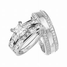 laraso co his and hers wedding rings sterling