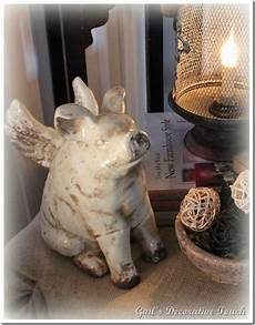 pigs accents bringing charming country home themes humor modern interior decorating when pigs fly home ideas flying pig