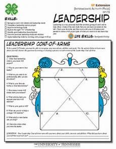 leadership intermediate worksheet for 7th 10th grade lesson planet