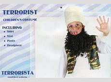 'Child terrorist' Halloween costume featuring Islamic