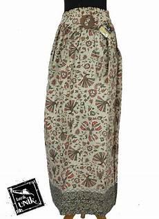 rok panjang batik motif burung merak bawahan rok murah batikunik com