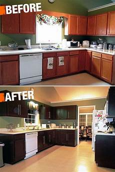 Kitchen Transformations Before And After by A New Coat Of Paint Can Transform Your Kitchen Cabinets