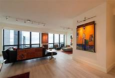 monorail and wall monorail with fj spirit heads by edge lighting contemporary living room