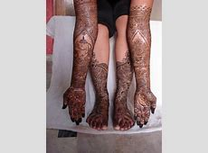Mehandi Design For Legs And Hands Pictures 2013 2014
