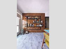 6 storage display feature walls designs   Home & Decor