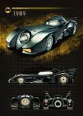Batmobile Batman History Car 1989  Superheros