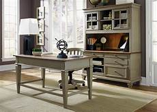executive home office furniture sets bungalow taupe jr executive home office set from liberty