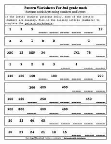 number patterns worksheets year 4 numbersworksheet com