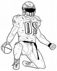 nfl sports coloring pages 17791 football drawing template at getdrawings free