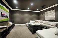 design tips for turning your basement into a media room decorated life