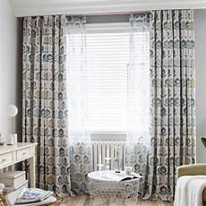 vorhang wohnzimmer minimalismus vorhang blumenmuster f 252 r wohnzimmer with