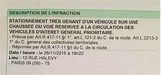 montant amende stationnement genant stationnement tres genant article r417 11 ii 12 rue