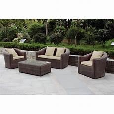 cuscini per mobili da giardino salottino salotto da giardino mod lipari in polyrattan
