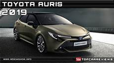2019 toyota auris review rendered price specs release date