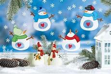 winterbilder zum basteln fr 246 hliches schneemann fensterbild dekor 225 ci 243 k dekor 225 ci 243