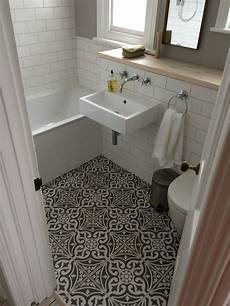 Small Bathroom Tile Floor Ideas Definitely Copying These Tiles For Our Downstairs Bathroom