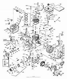 84 jr 50 engine diagram tecumseh hs50 67008b parts diagram for engine parts list 1