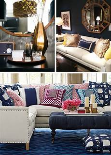 Navy Blue Home Decor Ideas by Navy Gold I Want The Dreamer S Disease