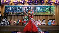 un following tradition to un united nations day national costume presentation youtube