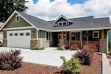 craftsman style house plans with walkout basement 3 bedroom craftsman house plan with den and walkout