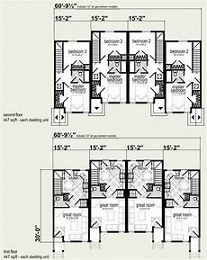 4 plex house plans prefab four plex plans modern house