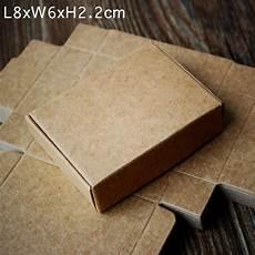 brown kraft paper collection box handmade diy soap
