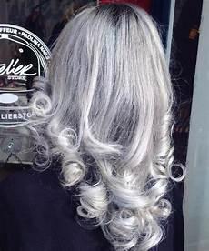 20 schattierungen des grauen haartrends graues ombre
