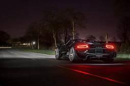 Sports Car Sportcar Black Night Light HD Wallpaper