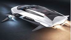 kia gerrida is a jet hover car concept inspired by maglev technology combined with jet thrusters