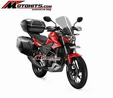 Cb Modif Touring by All New Honda Cb150r Box Siap Touring Motohits