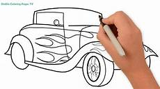 wie zeichnet auto auto malvorlagen f 252 r kinder auto
